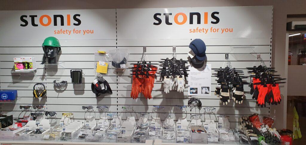 Foto Schutzbrillen und Handschuhe